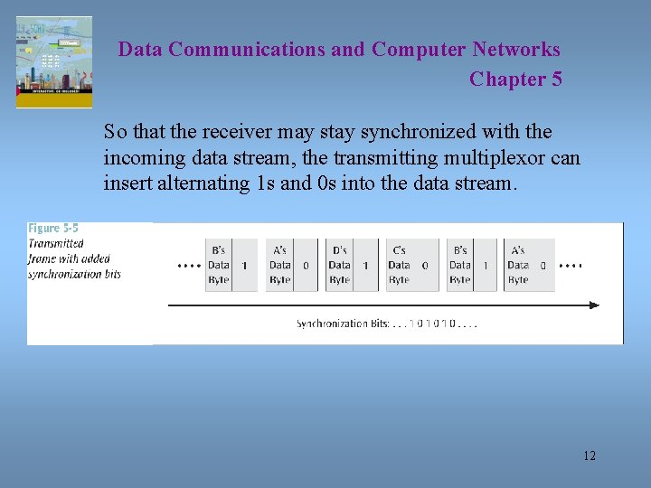 Data Communications and Computer Networks Chapter 5 So that the receiver may stay synchronized