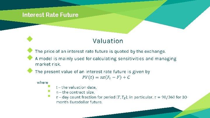 Interest Rate Future ◆