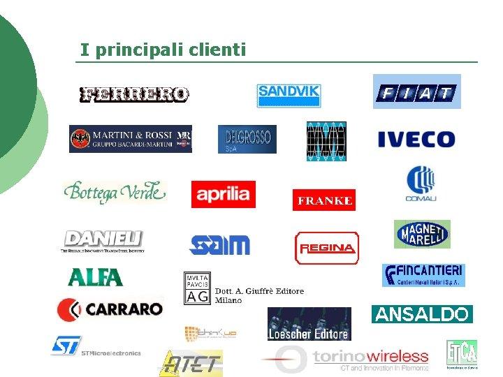 I principali clienti