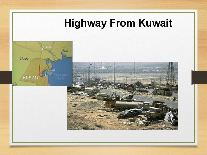 Highway From Kuwait