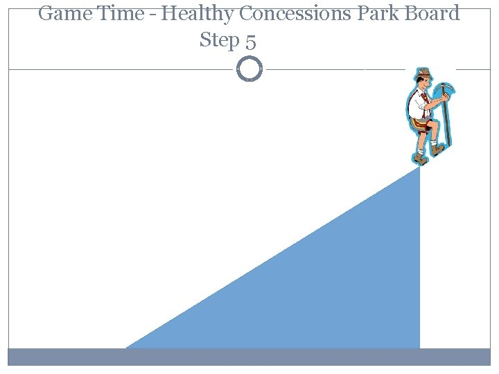 Game Time – Healthy Concessions Park Board Step 5
