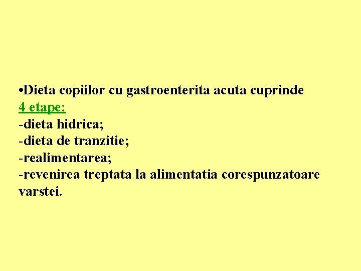 dieta 4 etape)