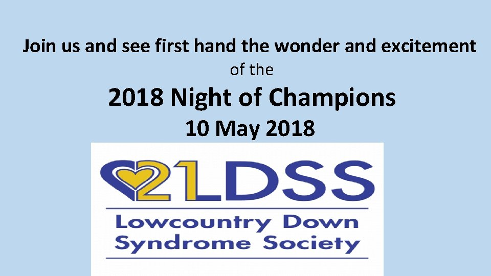 Join us and see first hand the wonder and excitement 2018 of the Night
