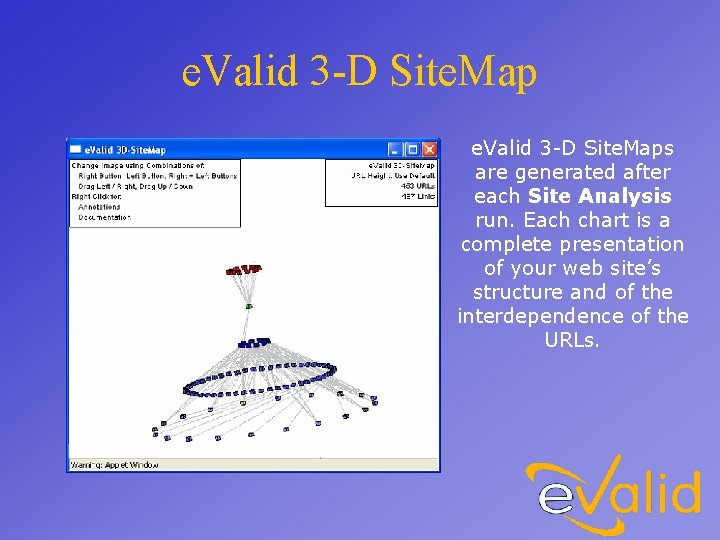 e. Valid 3 -D Site. Maps are generated after each Site Analysis run. Each
