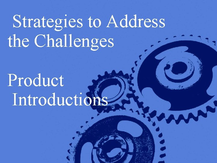Strategies to Address the Challenges Product Introductions Copyright © 2005 Deloitte Development LLC. All