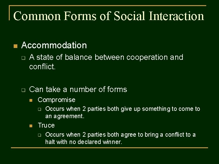 Of interaction what the are types What is