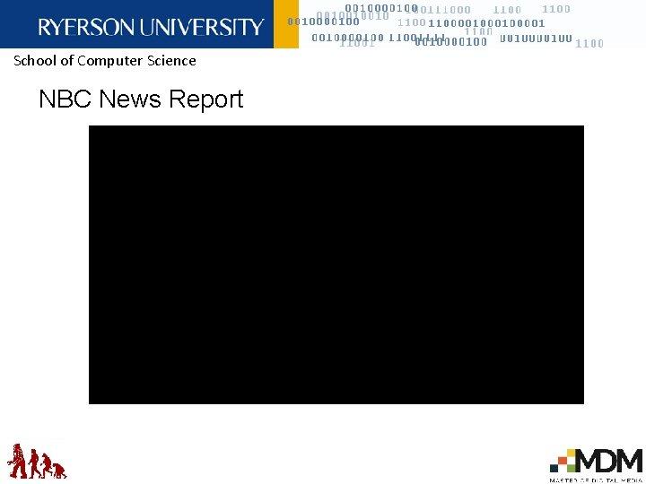 School of Computer Science NBC News Report