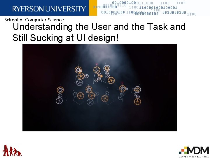 School of Computer Science Understanding the User and the Task and Still Sucking at