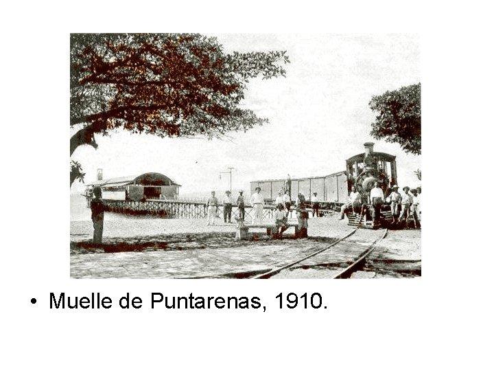 • Muelle de Puntarenas, 1910.