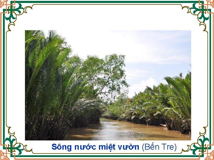 Sông nước miệt vườn (Bến Tre)