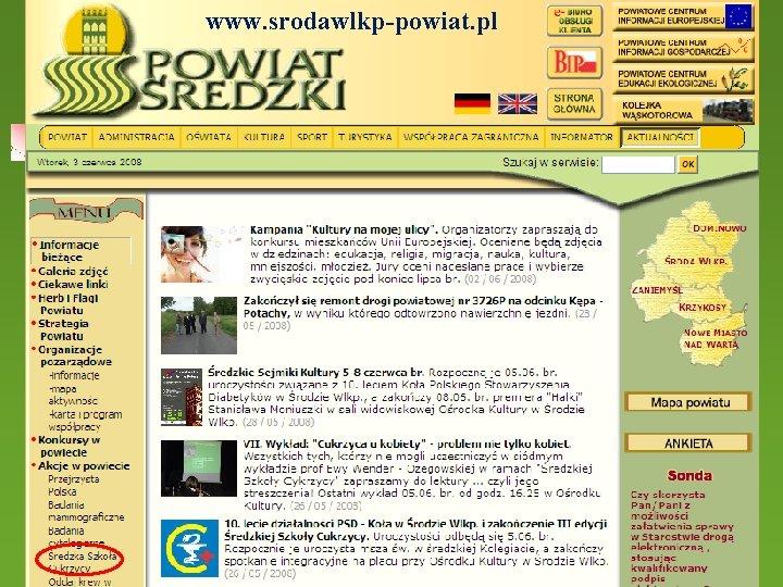 www. srodawlkp-powiat. pl 30