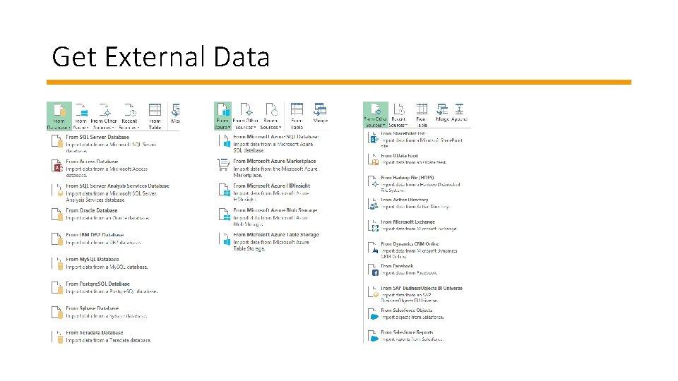Get External Data