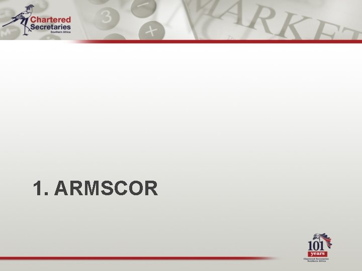1. ARMSCOR