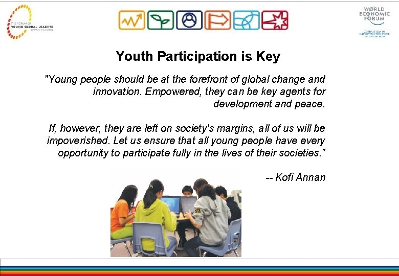 Youth Participation is Key