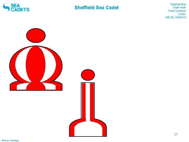 Sheffield Sea Cadet Seamanship Chart work Chart Symbols CW 01 V 00. 00, 04/05/18