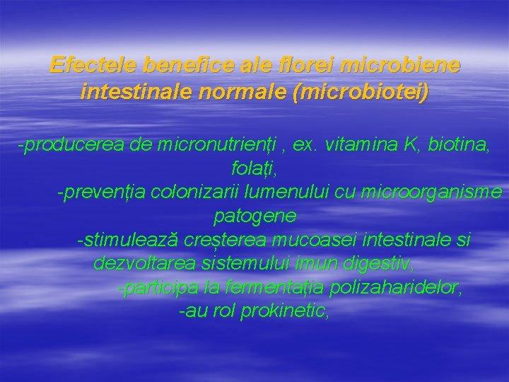 Medical Market - Microbiota intestinală - implicaţii digestive şi extradigestive