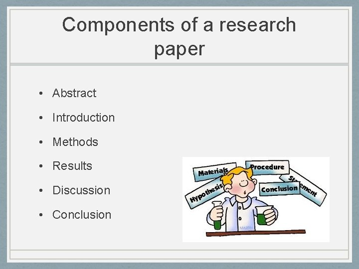 Components of a research abstract billing and collections manager resume