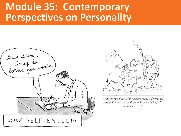 Module 35: Contemporary Perspectives on Personality