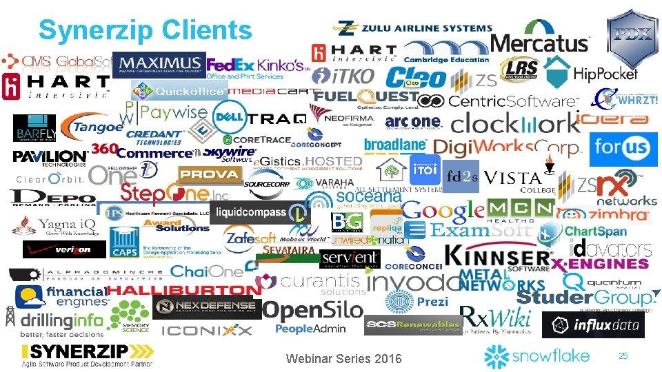 Synerzip Clients Webinar Series 2016 25
