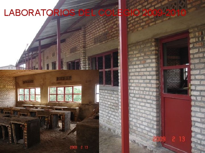 LABORATORIOS DEL COLEGIO 2009 -2010