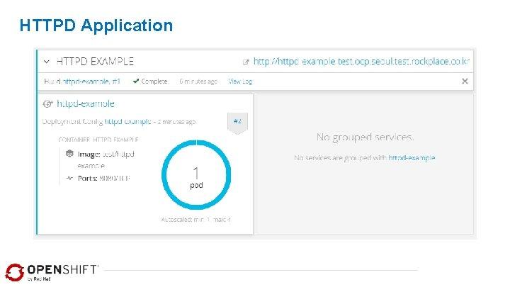 HTTPD Application
