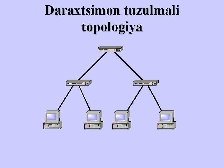 Daraxtsimon tuzulmali topologiya