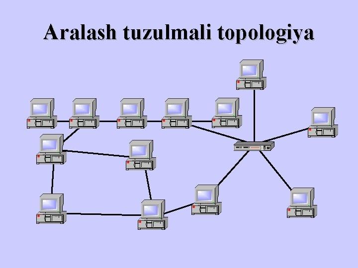 Aralash tuzulmali topologiya