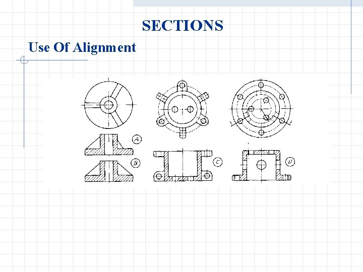 SECTIONS Use Of Alignment
