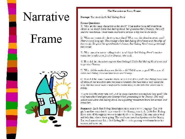 Narrative Frame