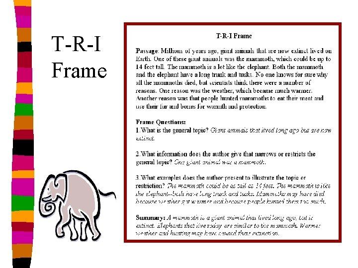 T-R-I Frame