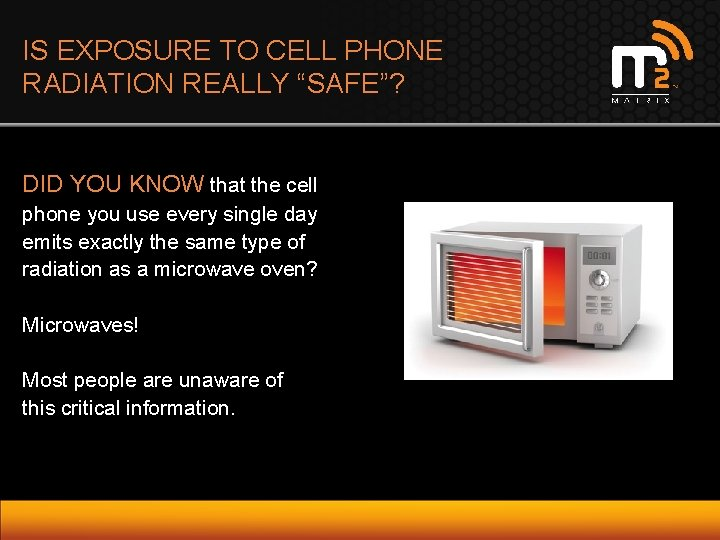 "IS EXPOSURE TO CELL PHONE RADIATION REALLY ""SAFE""? DID YOU KNOW that the cell"