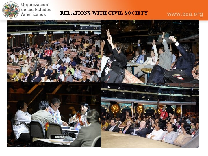 RELATIONS WITH CIVIL SOCIETY