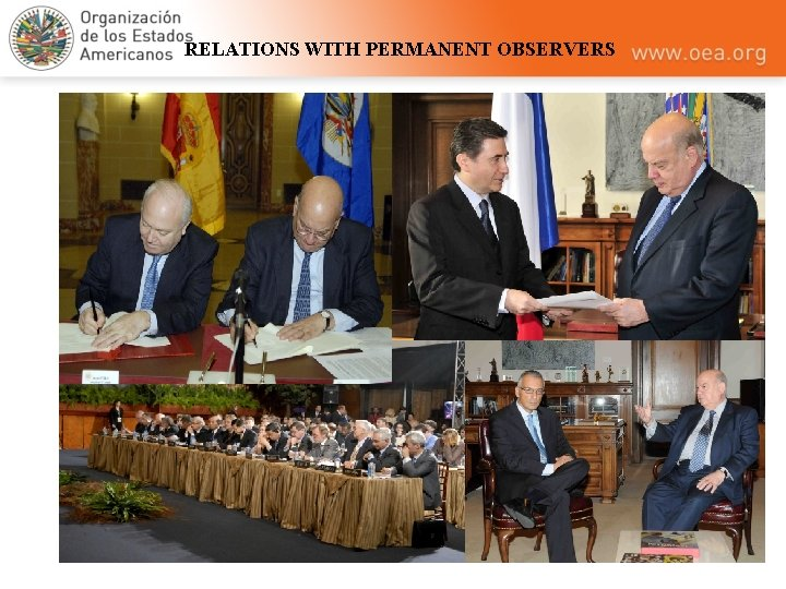 RELATIONS WITH PERMANENT OBSERVERS