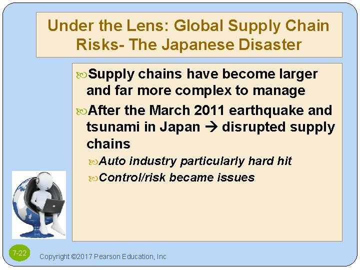 Under the Lens: Global Supply Chain Risks- The Japanese Disaster Supply chains have become