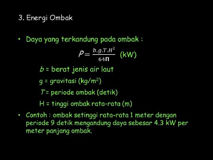 3. Energi Ombak