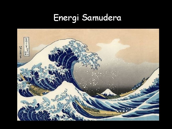 Energi Samudera