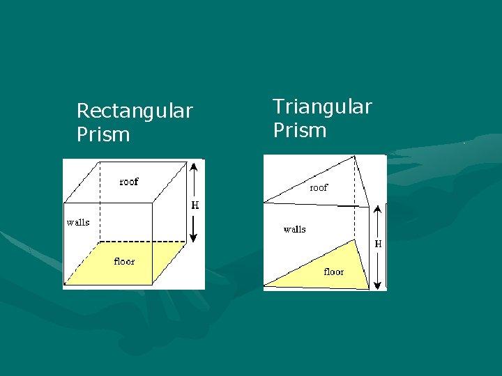 Rectangular Prism Triangular Prism