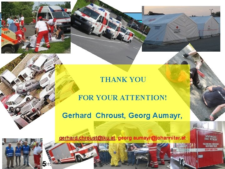 27 THANK YOU FOR YOUR ATTENTION! Gerhard Chroust, Georg Aumayr, gerhard. chroust@jku. at, georg