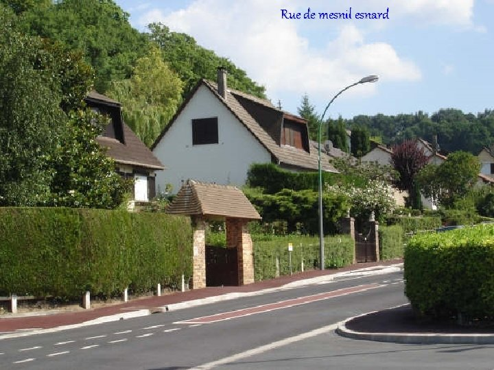 Rue de mesnil esnard