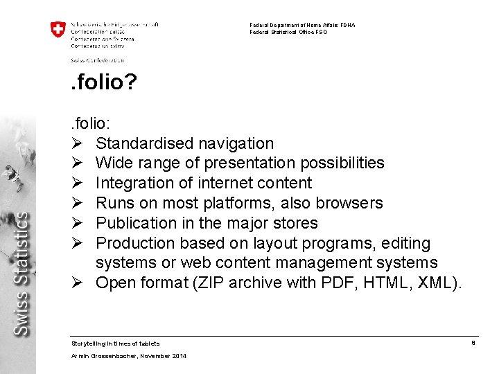 Federal Department of Home Affairs FDHA Federal Statistical Office FSO . folio? . folio: