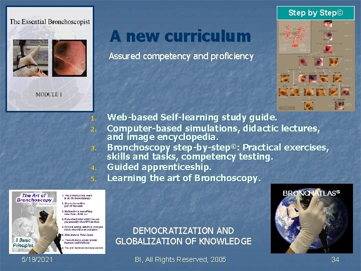 Step by Step© A new curriculum Assured competency and proficiency 1. 2. 3. 4.