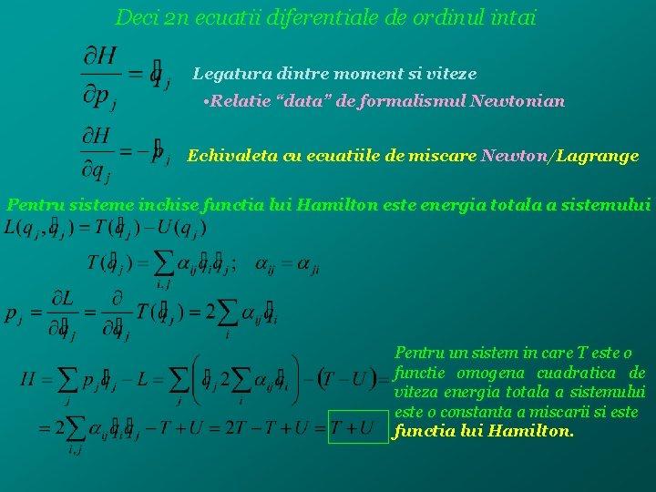 Mecanică analitică - Encyclopedia-Mathematica
