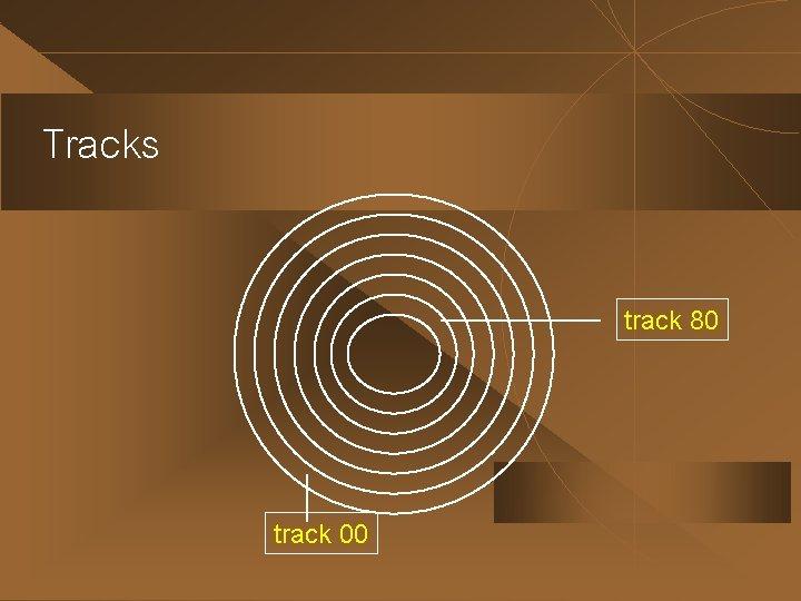 Tracks track 80 track 00