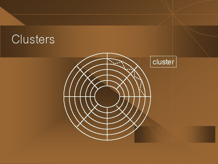 Clusters cluster