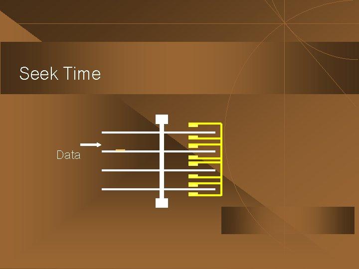 Seek Time Data