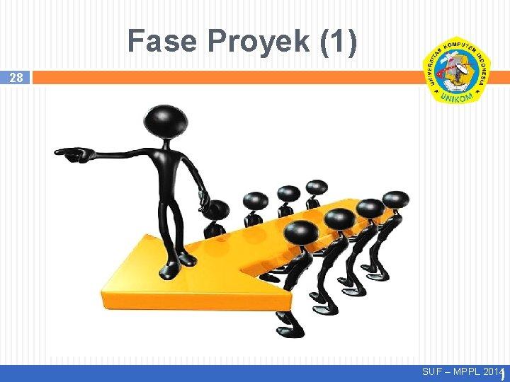 Fase Proyek (1) 28 SUF – MPPL 2014)