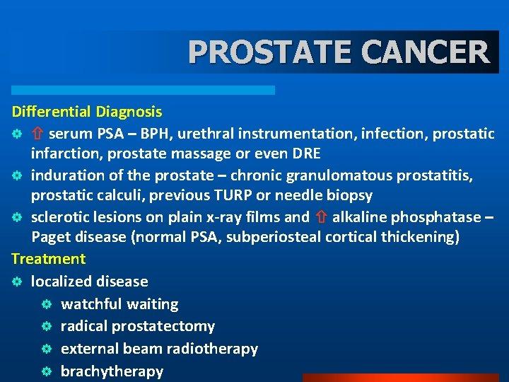 Milyen következmények lehetnek prostatitis