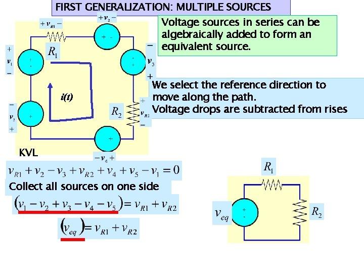 Parallel in multiple sources voltage Different voltage
