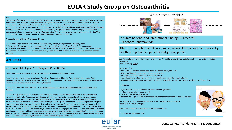 osteoarthritis fórum)