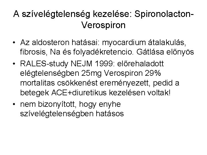 diuretikus hipertónia
